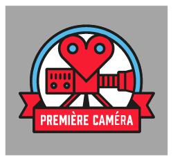 Sticker-premier-camera