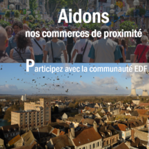Aidons nos commerces de proximite supports the project 86 - A4 Recto Verso à Chauvigny