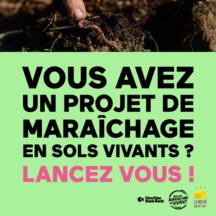 Vos pratiques maraichères vers l'agroécologie ! ondersteunt het project: La Ferme des Mille Bras, les racines d'un nouvel écosystème alimentaire