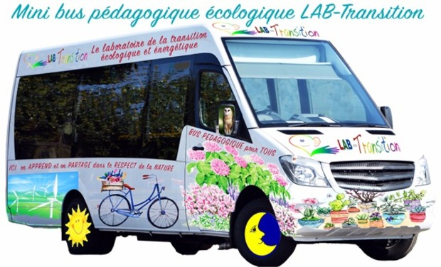 Project visual Mini bus pédagogique écologique LAB-Transition