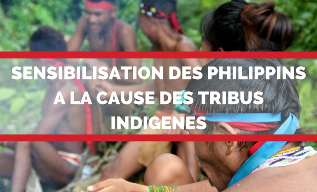 Visueel van project Sensibilisation des philippins à la cause des tribus indigènes