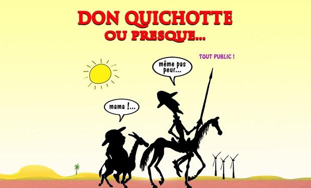 Visuel du projet Don Quichotte à la conquête d'Avignon!