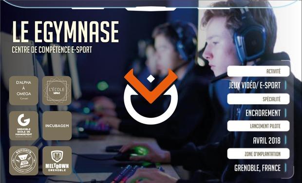 Visuel du projet eGymnase, votre centre de compétences e-sport