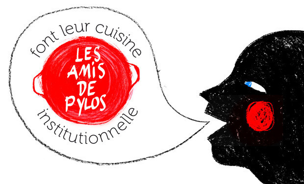 Project visual Les amis de Pylos font leur cuisine institutionnelle