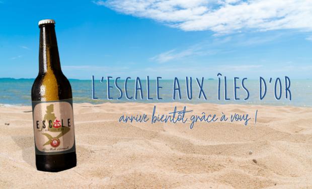Visueel van project Escale aux Îles d'Or - Nouvelle bière de la Bière des Îles d'Or