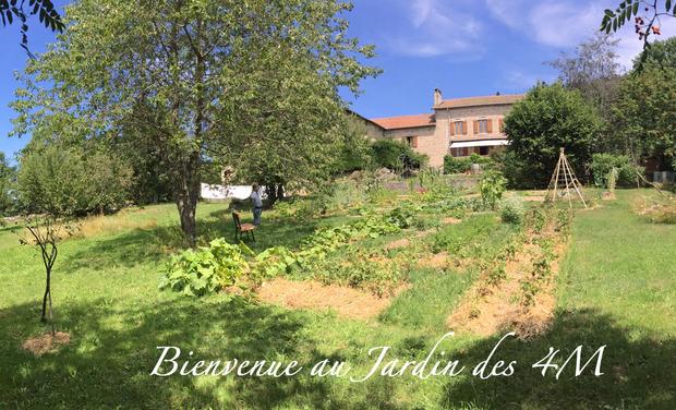 """Visuel du projet Bienvenue au """"Jardin des 4M"""""""