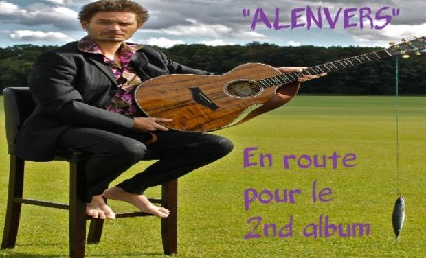 Visuel du projet 2nd album de Luc Alenvers