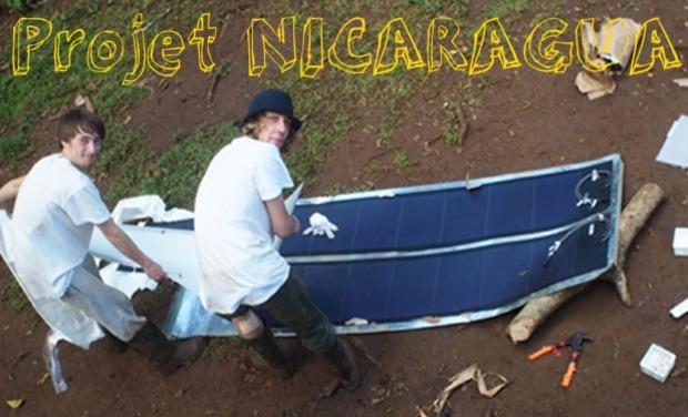 Project visual PROJET DE SOLIDARITÉ AU NICARAGUA