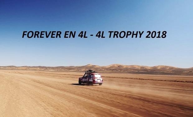 Visuel du projet Forever en 4L - 4L Trophy 2018
