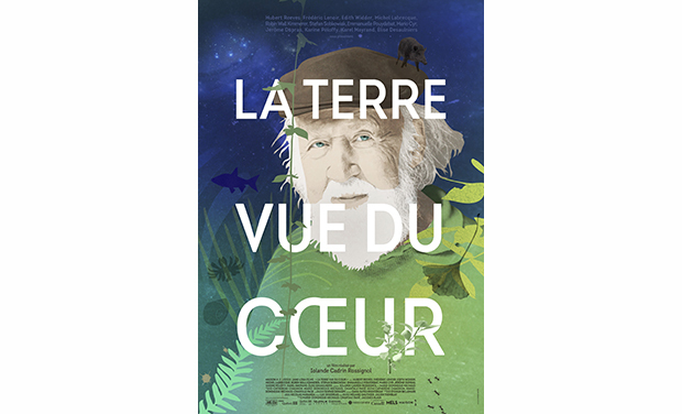 Visuel du projet La terre vue du coeur avec Hubert Reeves
