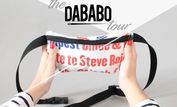Project visual THE DABABO TOUR - Atelier mobile de recyclage de bâches en live!
