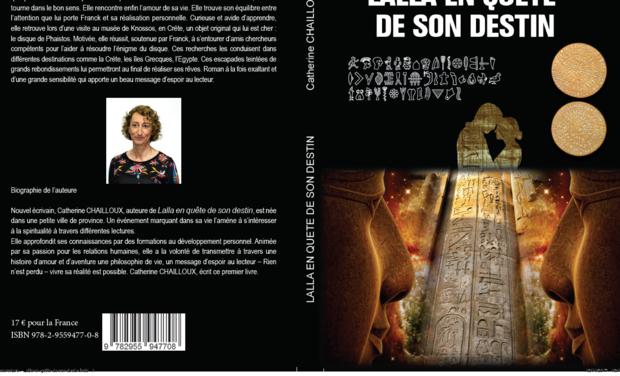 """Visueel van project """"Lalla en quête de son destin"""" Roman réaliste"""