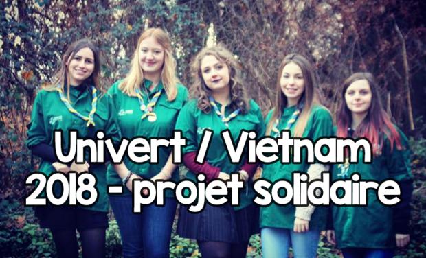 Visuel du projet Univert / Vietnam 2018 - projet solidaire
