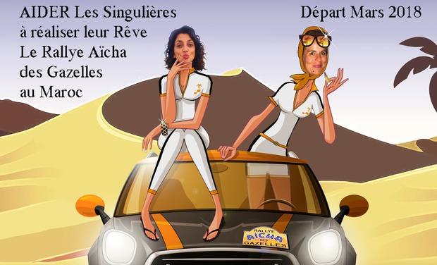 Visuel du projet Les singulières au Maroc pour le Rallye des Gazelles 2018