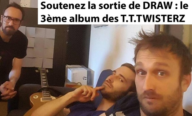 Visueel van project DRAW : 3ème Album Studio des T.T.TWISTERZ
