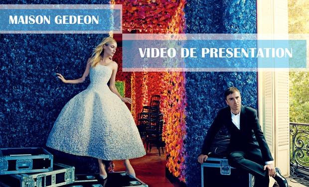 Visueel van project Maison Gedeon : Vidéo de présentation