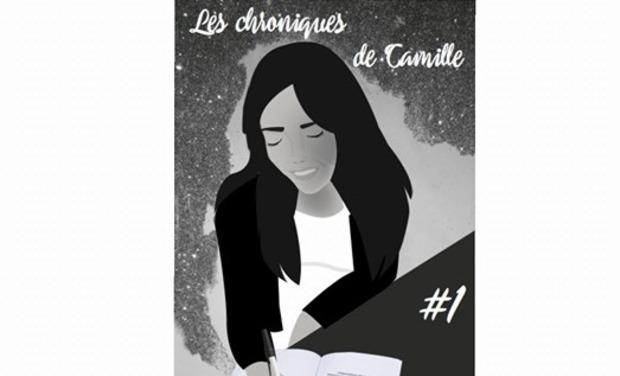 """Visuel du projet Aidez-moi à publier mon livre """" Les chroniques de Camille """"."""