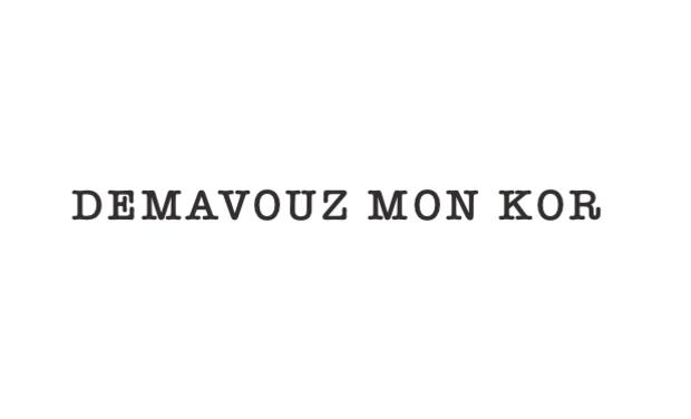 Visuel du projet DÉMAVOUZ MON KOR | Court-métrage