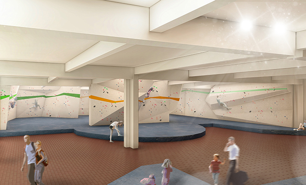 Visuel du projet BRUSSEL'S FIRST BOULDERING CENTER