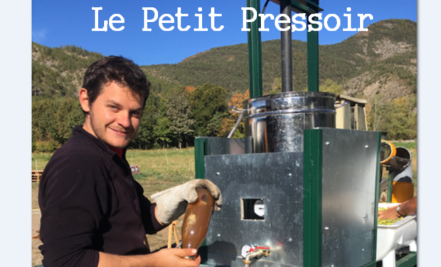 Project visual Le Petit Pressoir
