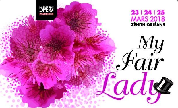 Visuel du projet My Fair Lady - La Fabrique Opéra Val de loire