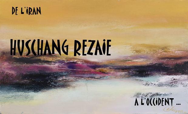 """Project visual HUSCHANG REZAIE- """"Parcours original d'un artiste peintre Iranien"""""""