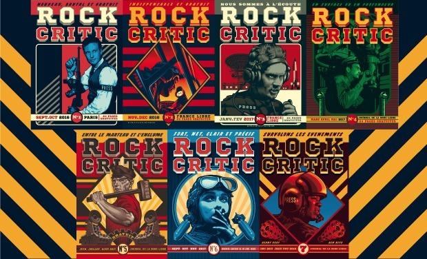 Visuel du projet ROCK CRITIC