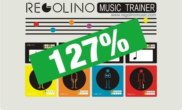 Project visual Regolino Music Trainer!