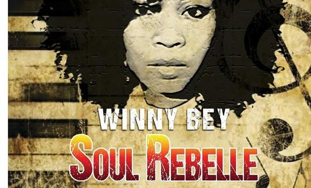 Visuel du projet Winny Bey  Ep Soul Rebelle vol.1