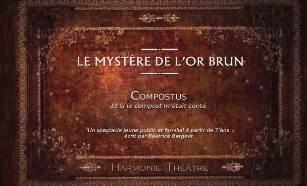 "Visueel van project ""LE MYSTERE DE L'OR BRUN"""