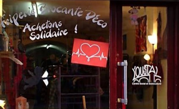 Project visual L'Epicerie Solidaire L'Oustal