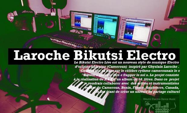 Visuel du projet Laroche Bikutsi Electro Live