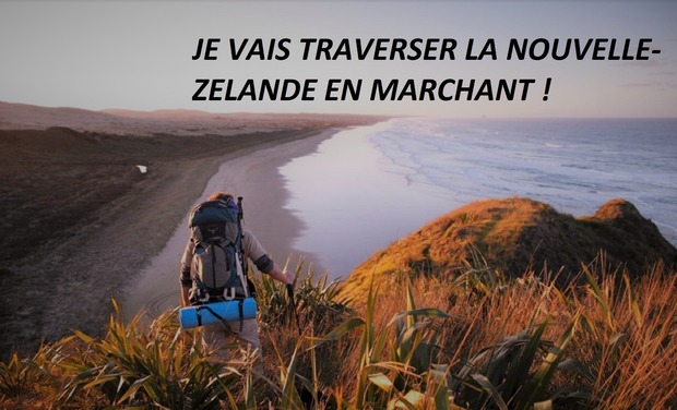 Visuel du projet Je vais traverser la Nouvelle-Zélande en marchant !