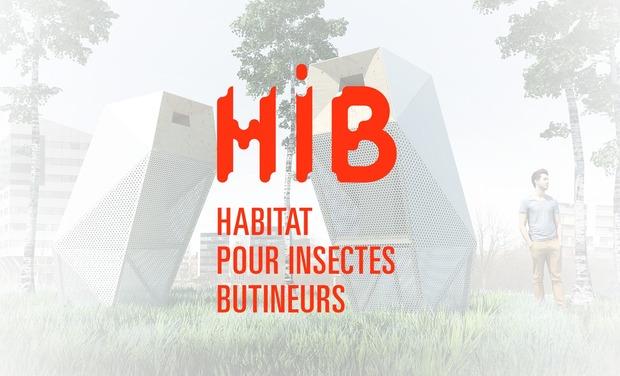 Visuel du projet HIB - Habitat pour Insectes Butineurs