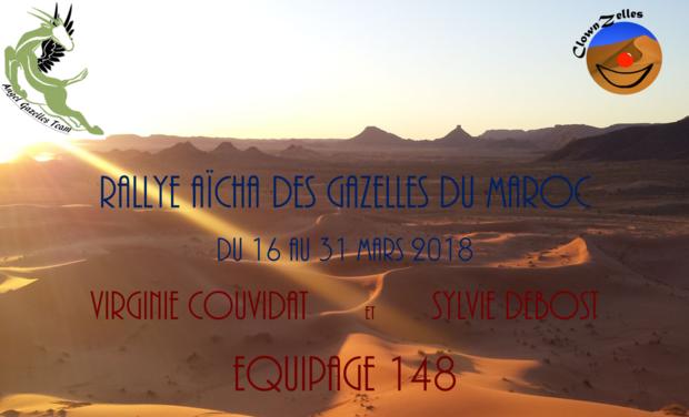 Visuel du projet ClownZelles, cap sur le Rallye Aïcha des Gazelles du Maroc 2018 !