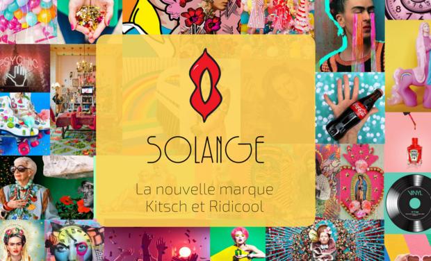 Visuel du projet Solange - La nouvelle marque Kitsch et Ridicool !