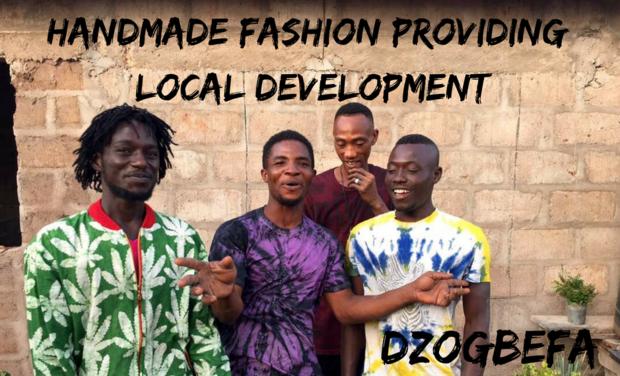 Project visual Une mode éthique pour un développement local !