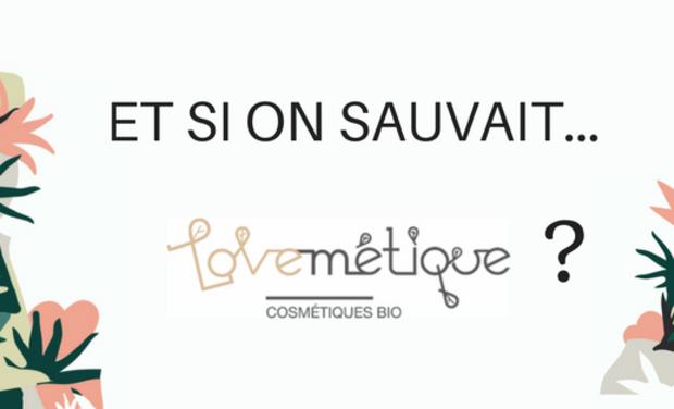 """Project visual 28 jours pour sauver """"Lovemétique"""""""