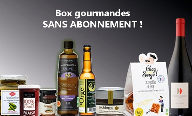 Visueel van project Box gourmandes SANS ABONNEMENT