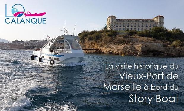 Visuel du projet Visite historique du Vieux-Port de Marseille à bord du Story Boat