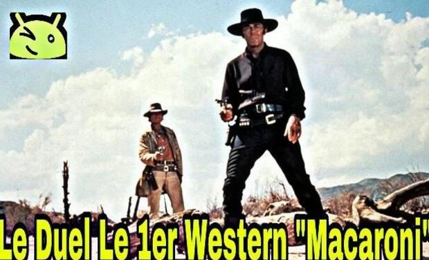 """Visuel du projet Le Duel Le 1er Western """"Macaroni"""""""