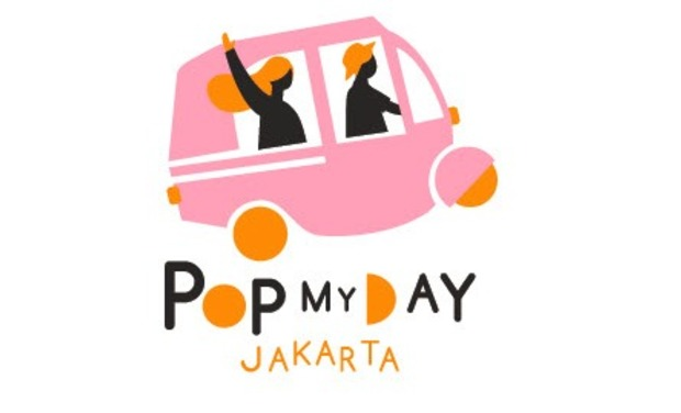 Project visual PoP My Day in Jakarta, a unique and offbeat guide!