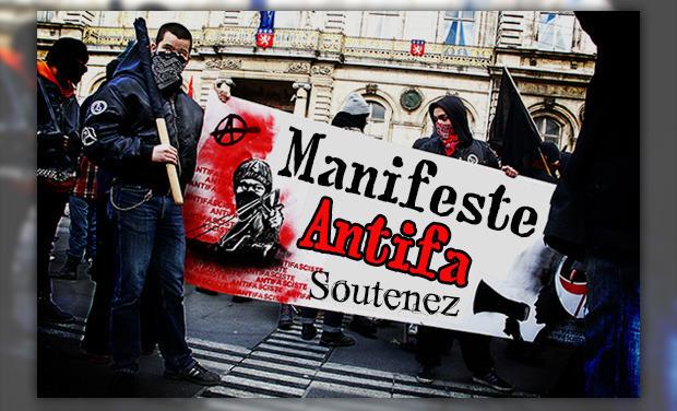 Project visual Manifeste Antifa
