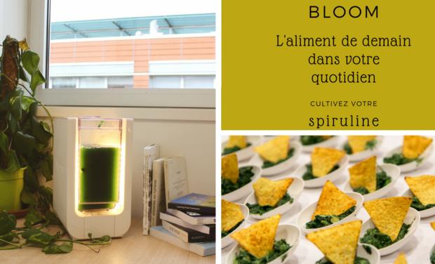 Visuel du projet Bloom, cultivez votre spiruline dans votre cuisine