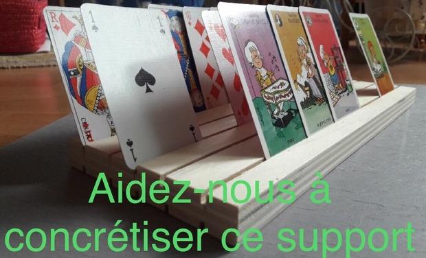 Visuel du projet Support pour jeux de cartes