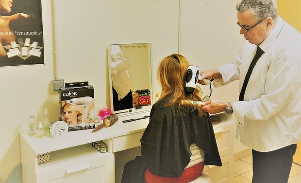 Project visual Un salon de coiffure solidaire