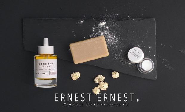 Visuel du projet Ernest Ernest Cosmétiques 100% naturels, fabriqués à la main et Made in France
