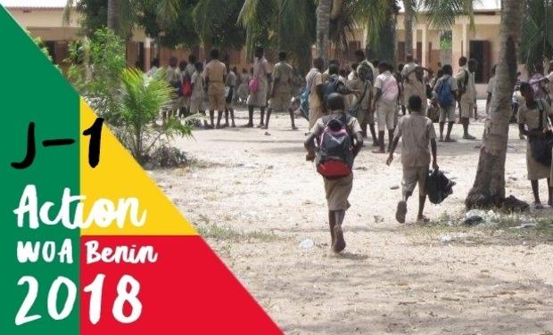 Visuel du projet Action WOA Bénin 2018