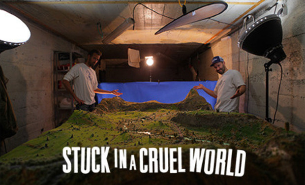 "Visuel du projet FRAMIX - ""STUCK IN A CRUEL WORLD"""