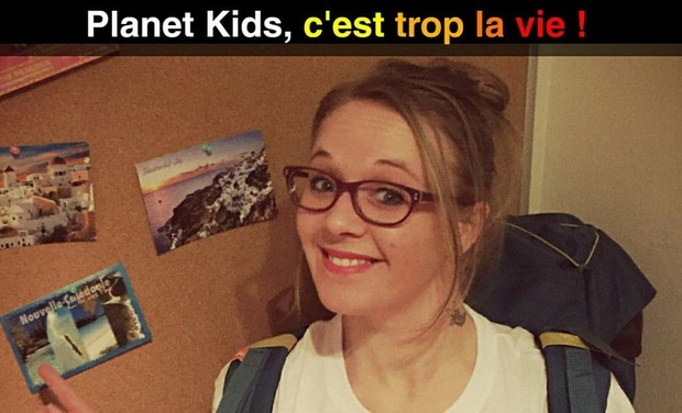 Project visual Planet kids, c'est trop la vie!